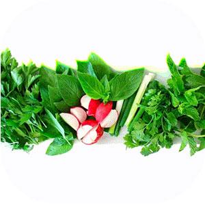 سبزی خوردن مخلوط (750 گرم)گرم)